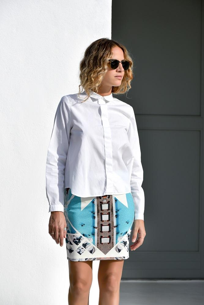 Porto Heli Pencil Skirt