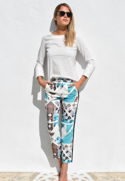 Porto Heli Cigarette Trousers