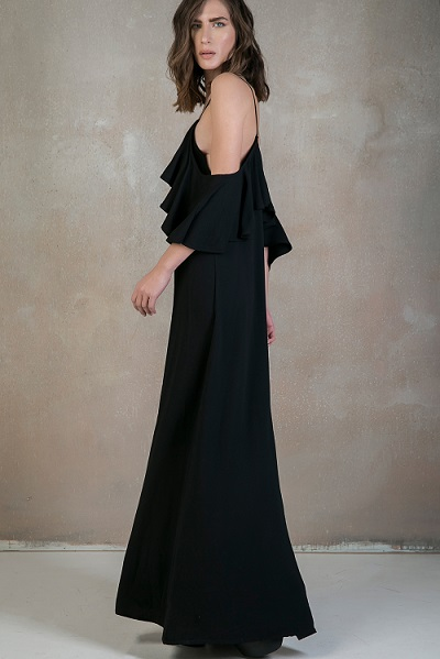ruffles dress