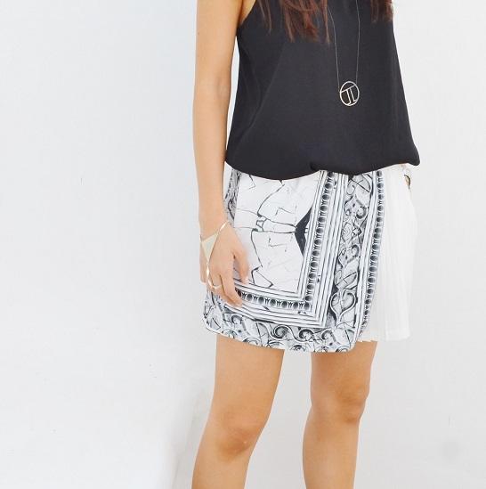 marble-skorts-shorts-fashionlab
