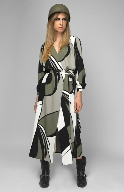 olive-wrap-dress